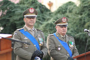 """Cerimonia di avvicendamento dei Gen. Comandantialla """"Vitrani"""""""
