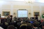 Un interno della presentazione CALENDESERCITO-Bari