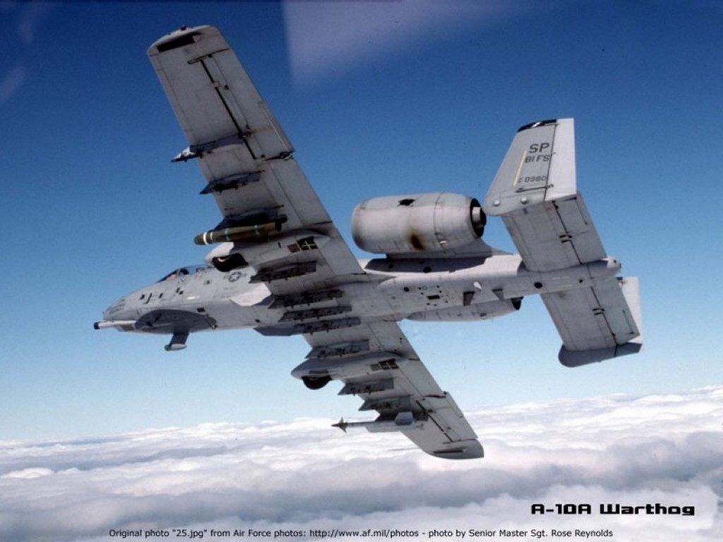 Mundo da Defesa Militar: A-10 Thunderbolt II