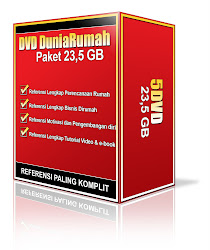 Paket DVD DuniaRumah 23.5 GB
