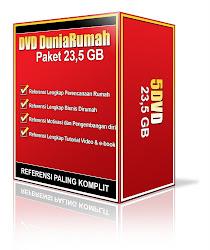 Paket DVD DuniaRumah 23.5 GB