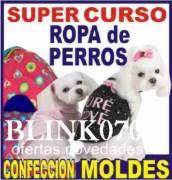 COMBO CORTE Y CONFENCCION PARA ROPA DE PERROS + PELUQUERIA CANINA
