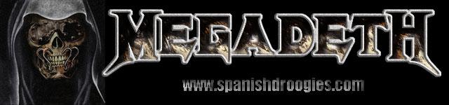 Megadeth Spanish Droogies
