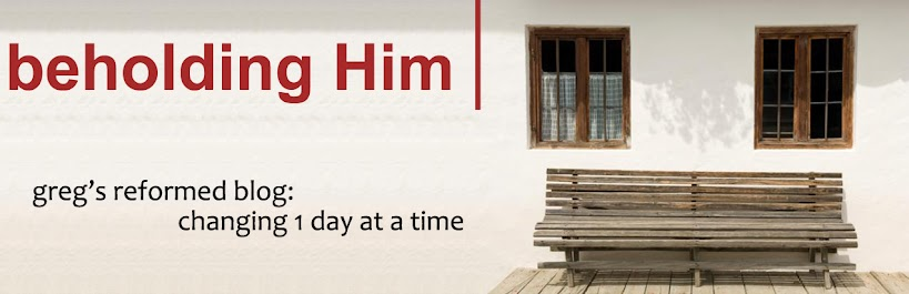 Beholding Him