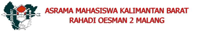 "Asrama Keluarga Pelajar Mahasiswa Kalimantan Barat ""Rahadi Oesman 2"" Malang"