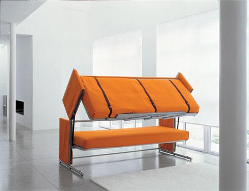 transforms into bunk bed