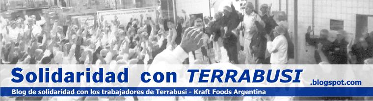 Solidaridad con Terrabusi Kraft