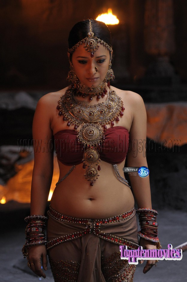 Video..... Anushka indian navel fetish belly button gorgeous