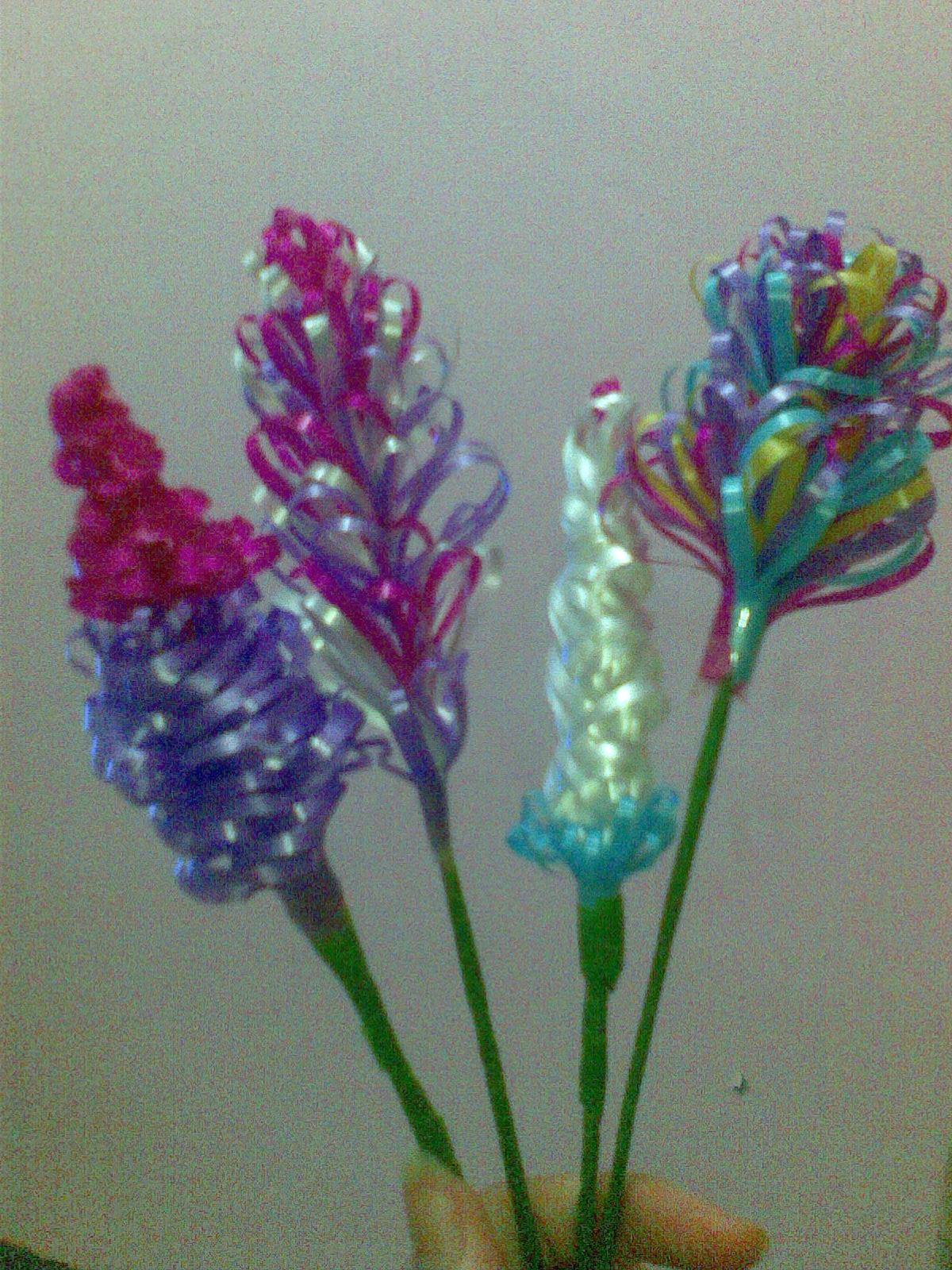 Belajar Bisnis Membuat Bunga Dari Pita Jepang
