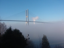 An Early Morning Fog on the Fraser River