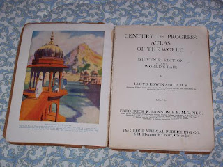 Century of Progress Atlas of the World, 1934