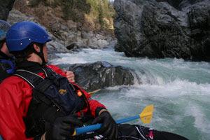 Gorge rapids