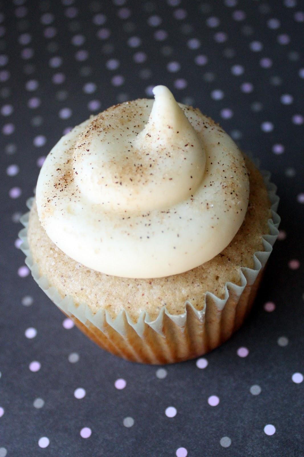 Snickerdoodle Cupcakes | cupcake dreams