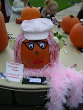Penelope the Popstar Pumpkin
