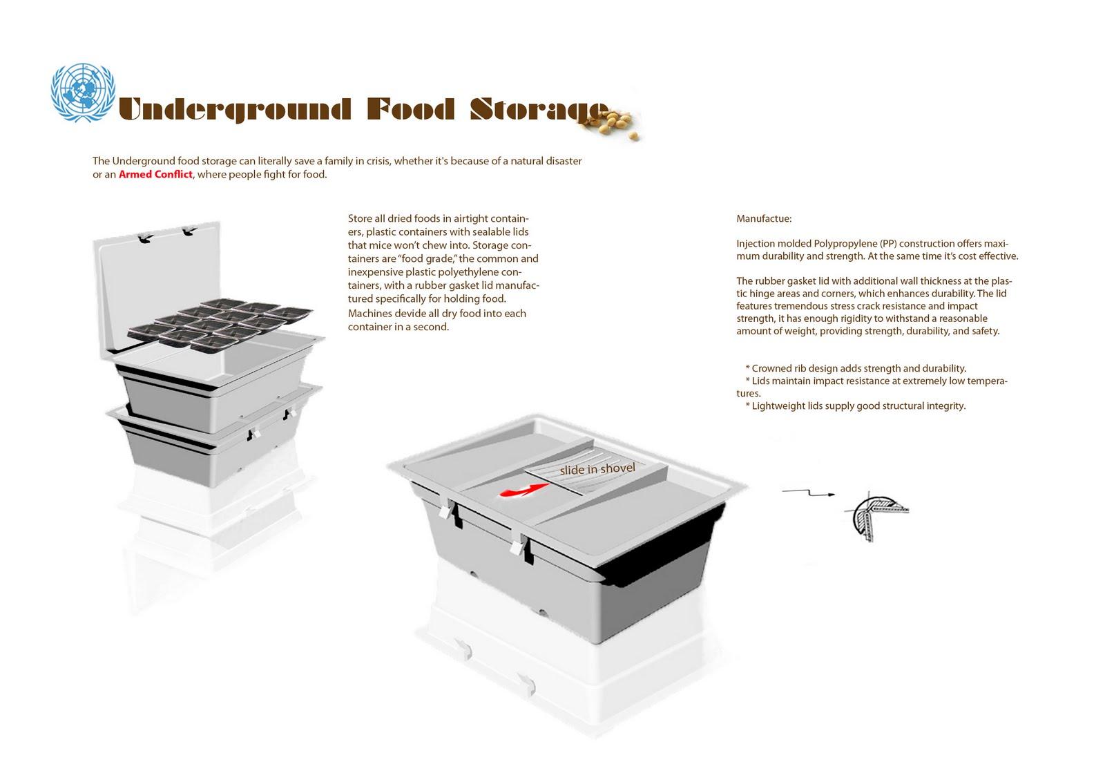 LISA The Underground Food Storage
