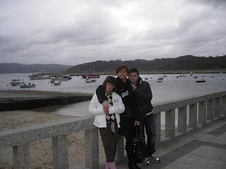 La familia de Pereira: Ángela, Inma e Ignacio