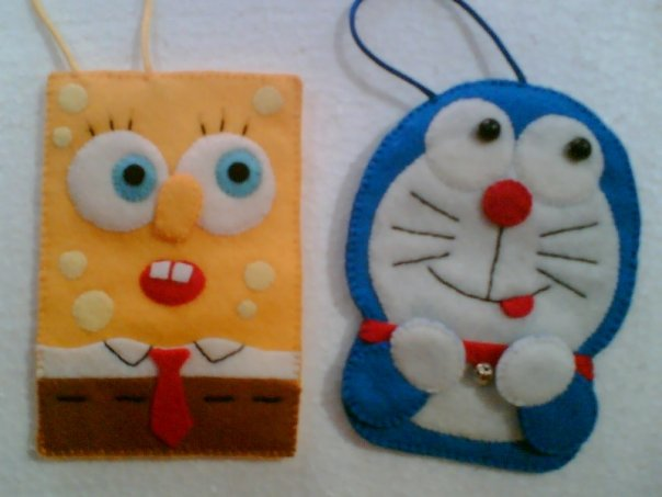 Spongebob Squarepants and Doraemon ""