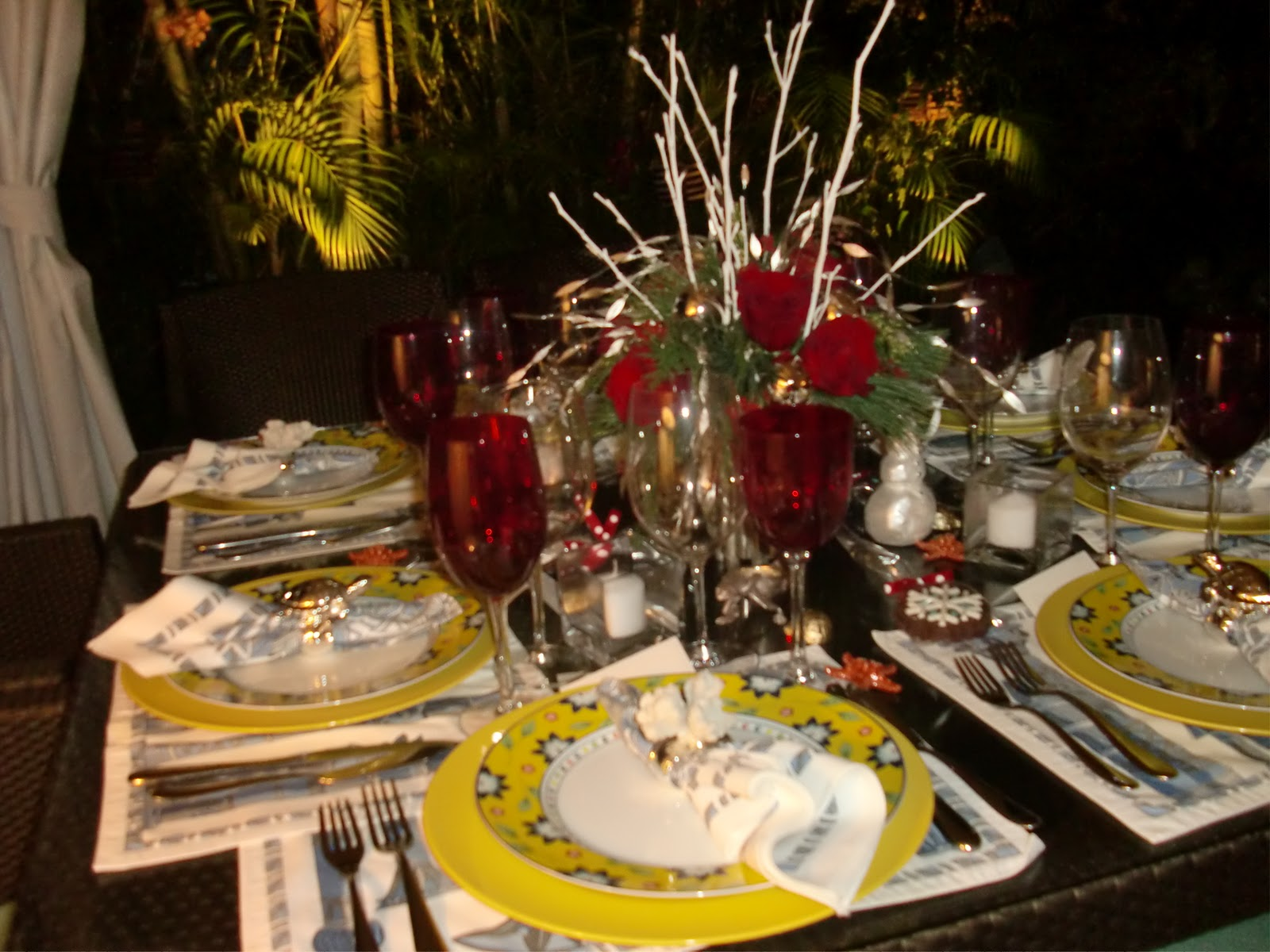 Martha 39 S Good Nature Table Setting For An Intimate