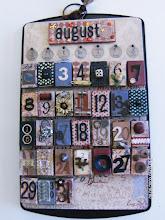Vintage Matchbox Calendar