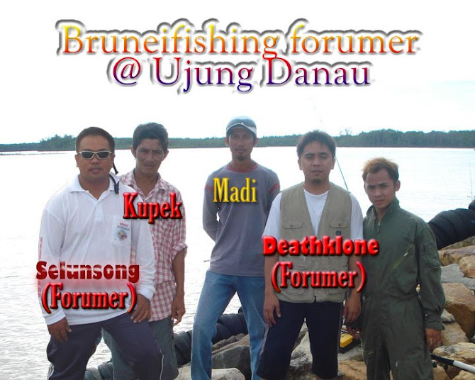 Gambar kenangan bersama Selunsong Team Anglerz@Danau Menjerit