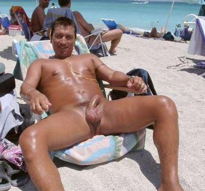nude beach men