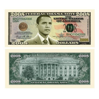 OBAMA S GREED EAT DOLLARS