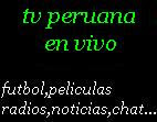 Tv Peruana en vivo