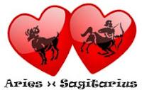 Asmara Aries dengan Sagitarius