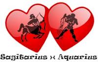 Asmara Aquarius dengan Sagitarius