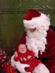Brielle and Santa