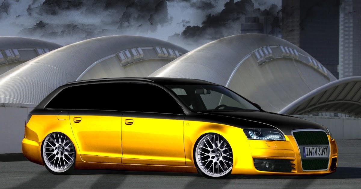 Audi A6 Break Tuning