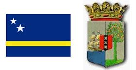 Curazao: Bandera y Escudo