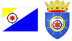 Bonaire: Bandera y Escudo