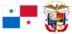 Panamá: Bandera y Escudo