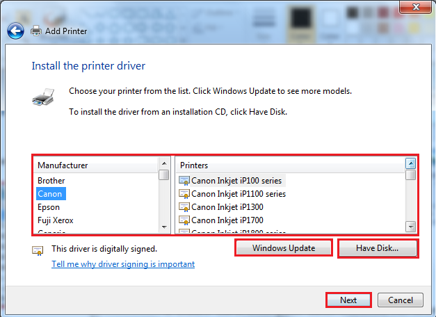 Where Is The Printer Driver Located Windows 10