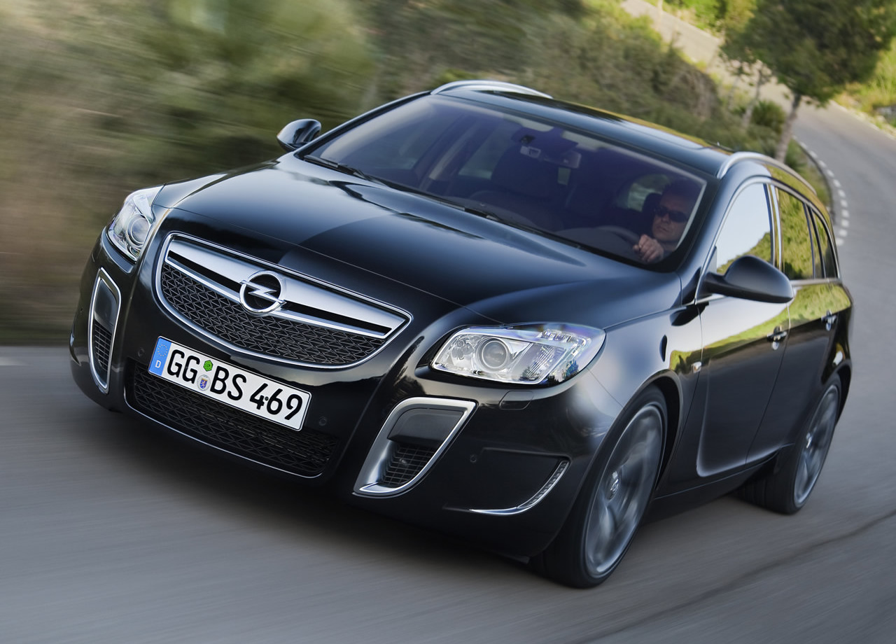 Road Car Pictures: 2010 Opel Insignia OPC Sports Tourer