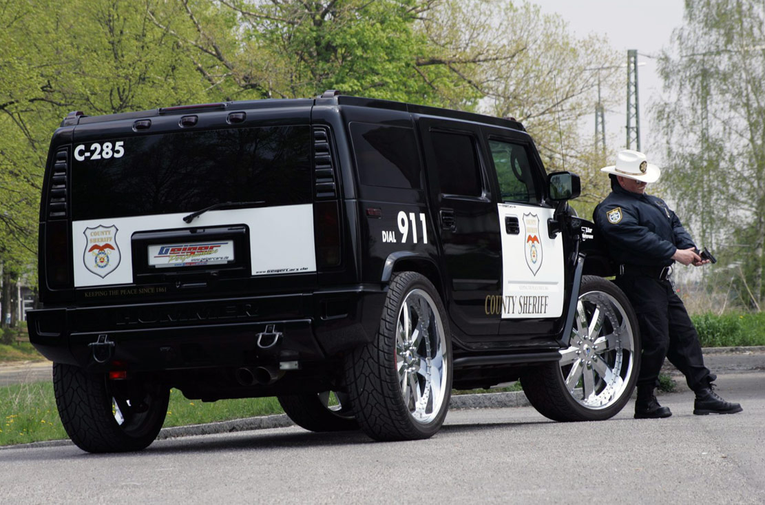Labels: HUMMER, Police Cars,