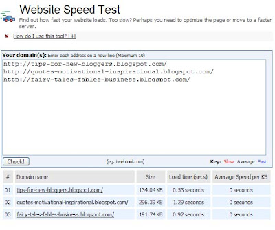Faster Web Page Load Time