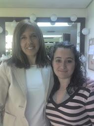 Con Ana Blanco