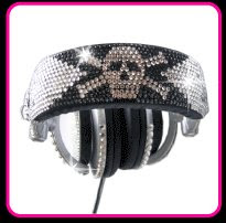 Jeweled Headphones