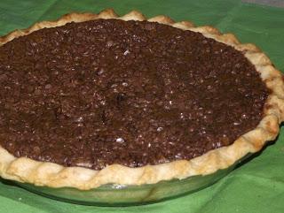 Mama's Chocolate Pumpkin Pie