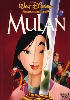 Mulan (1998) Capa