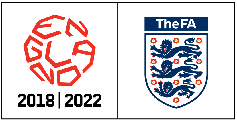 England World Cup 2018 bid logo. I think it's great, too bad the bid logos