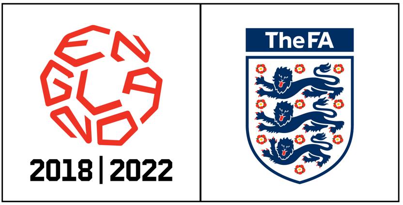 England World Cup 2018 bid logo. I think it's great, too bad the bid logos