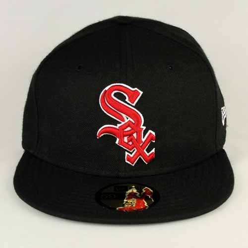 chicago white sox hats new era. Chicago Whitesox Black / Red