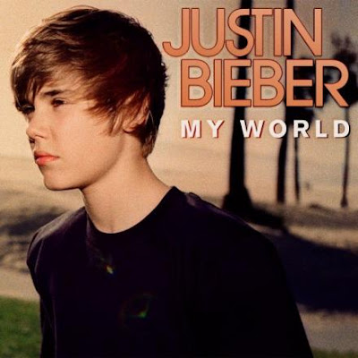 justin bieber cd cover my world. justin bieber one less lonely