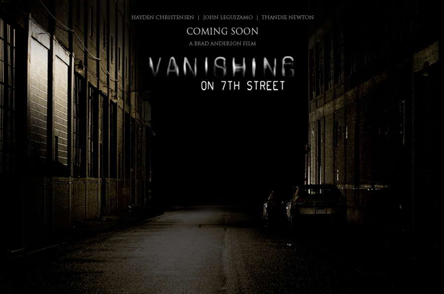 The Vanishing on 7th Street is a script that starts off strong but,