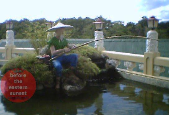 Fisherman at Cebu Taoist Temple