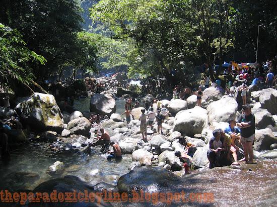 Downriver from Majayjay Falls