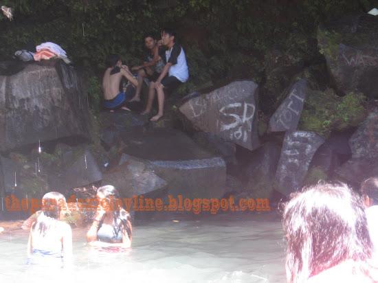 Rocks of Majayjay Falls